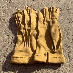 VTG gloves winter fall mittens glove leather spun